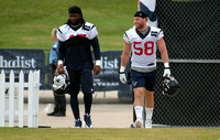 Houston Texans Training Camp -- July 26 to August 13